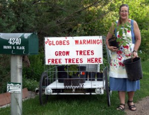 Free Trees to Combat Global Warming