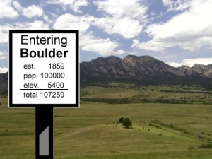 Boulder Tops the Century Mark