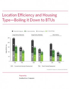 EPA | Location Efficiency and Housing Type – Boiling it Down to BTUs