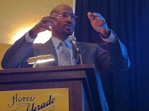 Van Jones Urges Boulder to Embrace the Green Collar Economy