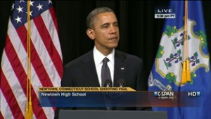 WATCH: President Obama in Newtown, CT