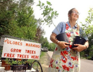 Free Trees to Combat Global Warming, Starting June 15th