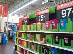 Attention Walmart Shoppers: Take the Blue Line Poll