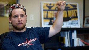 Comrade Keith Percy, social activist wants to make Boulder a more inclusive place