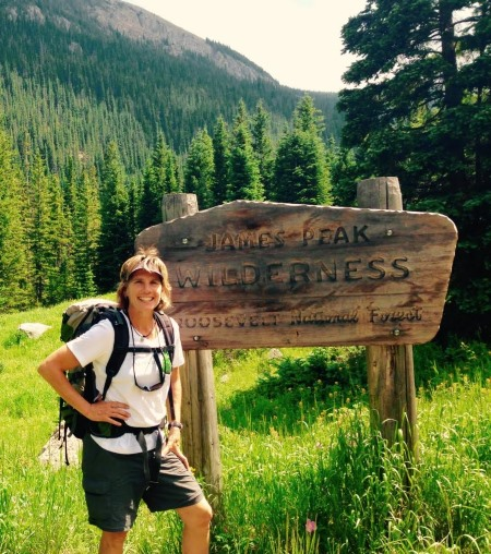 Council member Suzanne Jones is pictured in James Peak Wilderness. As the previous Colorado Regional Director of The Wilderness Society, Jones has helped pass several conservation bills through Congress, including bills to establish the James Peak Wilderness. (Photo courtesy Suzanne Jones)