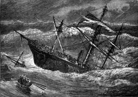 By Frederick Whymper - From page 293 of the 1887 book The Sea: its stirring story of adventure, peril & heroism., Volume 2. Found via project Gutenberg here [1]., Public Domain, https://commons.wikimedia.org/w/index.php?curid=41134597