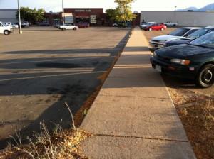 A New Angle on the Diagonal Plaza
