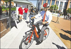 Washington Post | Bicycle program makes District easier place to get around, residents say