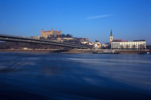 The Blue Danube Meets the Blue Line