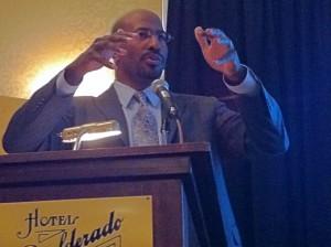Van Jones Urges Boulder to Embrace the Green Collar Economy