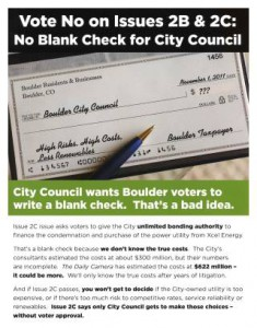 A Response to Xcel's Latest False Statements about Ballot Issues 2B & 2C