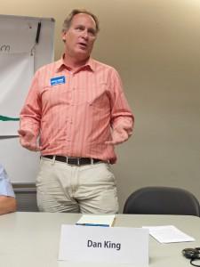 Council Candidate Dan King