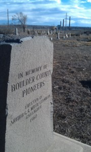 Boulder Weekly | Valmont cemetery families say city in danger of digging up human remains