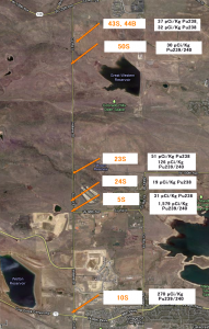 Plutonium & the Jefferson Parkway:  Report on recent soil sampling at Rocky Flats
