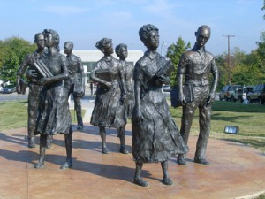 The Youngest Member of the Little Rock Nine