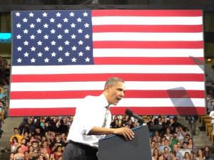 Obama at CU