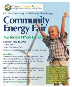 Commit to Climate Action at the Community Energy Fair