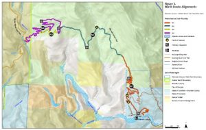 Issues and Solutions for the Eldo-to-Walker Trail and the Indian Peaks Traverse